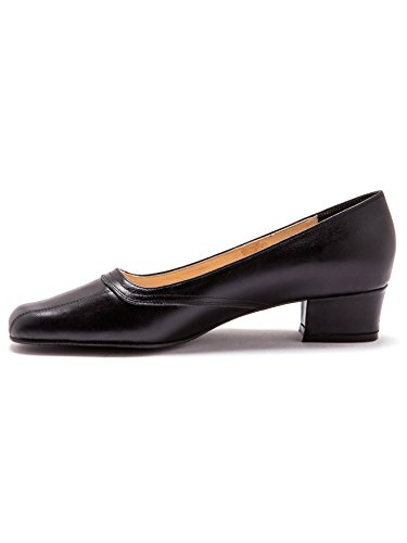 Fantais De Negro zapatos Con Costuras Tacón Pediconfort BHnX5Pqx