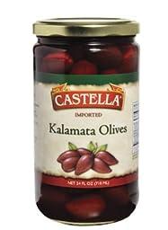 Castella Kalamata Olives 24 Oz (Pack of 2)