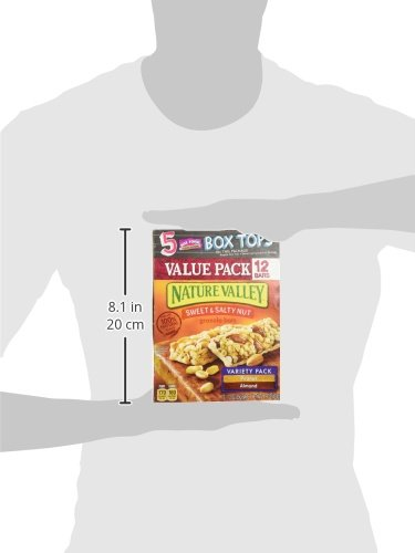 Nature Valley, Granola Bars, Sweet & Salty Nut, Variety Pack -12 bars by Nature Valley (Image #6)