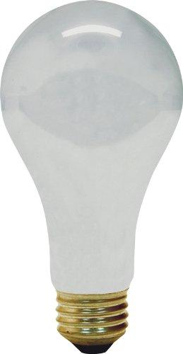 GE Lighting 47261 100-Watt SAF-T-GARD Rough Service A21 Light Bulb, - Bulb 130v A21 Light