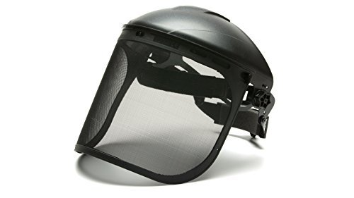 Pyramex S1060 Wire Mesh Face Shield, Steel Mesh Visor by Pyramex