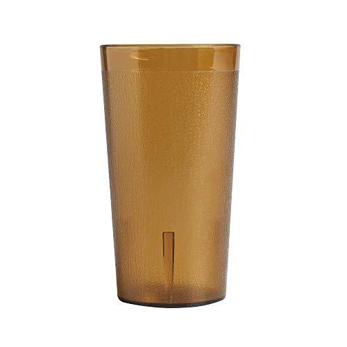- Cambro 1600P153 Colorware Amber 16.4 oz. Plastic Tumbler - 72 / CS