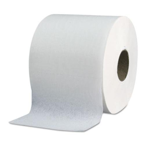 NeverOut 190-29 Executive White 2-Ply High Capacity Bathroom Tissue, 770 per Roll, 4.05'' Length x 4'' Width (Roll of 48)