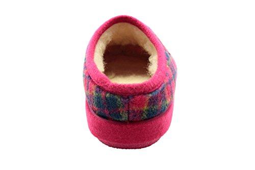 Andres Machado. ESAM001. Zapatillas Alpinas en diferentes colores. Unisex. Todas las tallas de la 26 a la 50. CuadrosFuxia New