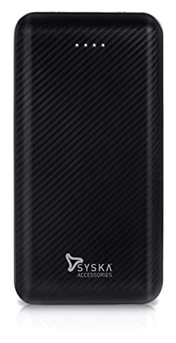 Syska 20000 mAh Li-Polymer P2006J Power Core200 Power Bank (Black)