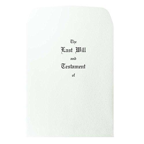 Blumberg Pebble Finish Last Will and Testament Envelopes, Oversized, 100 per (Testament Envelopes)