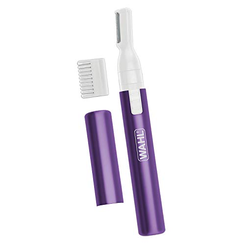 Wahl Clean and Confident Precision Detailer Purple #5640-100 (Wahl Rechargeable Ear Nose And Brow Trimmer)