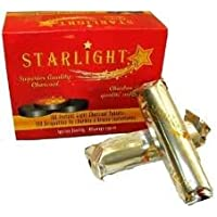 StarLight Hookah Charcoal, 30 Piece
