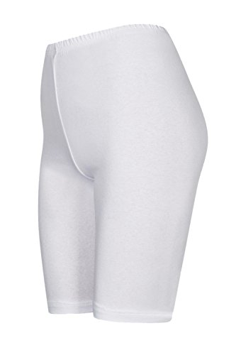 calzoncini da sopra con colori ginocchio 16 pants hot pantaloncini Bianco pantaloncini 2 Pack pRBqY1q
