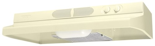 (Air King QZ2305 30-Inch Quiet Zone Under Cabinet Range Hood with 260-CFM, Almond Finish)