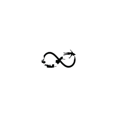 Tatuaje Temporal Tattify - Peter Pan - Juego de sombras (juego de ...
