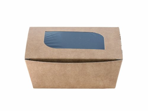 Solia ES32550 Carton Freshness Cardboard Box with Window, 17-Ounce Capacity, 5-1/2