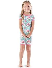 Little Girls Floral Short Pajama