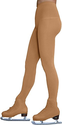 ChloeNoel Figure Skating Light Tan Over The Boot Tights TB8832 Light Tan Child Small (6-8 - Girls Figure Skate Boots