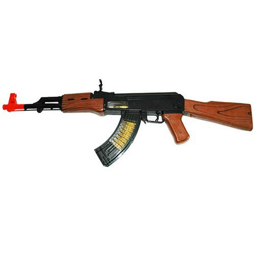 AJ Toys & Games Battery Operated Toy Special Forces AK-47 Gun 27