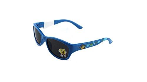 New Authentic Nickelodeon Sponge Bob SB30 Blue Kids Sunglasses 46mm Gray - Sunglasses Squarepants Spongebob