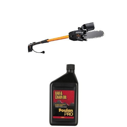 Remington RM1025SPS Ranger 10-Inch 8-Amp Electric Chainsaw/Pole Saw Combo and Chain Oil Bundle