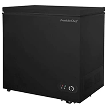 Franklin Chef FCF201B 7.0 Cubic Foot Black Chest Freezer