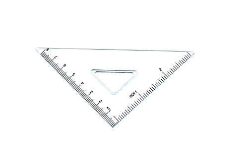 7 Piece Geometry School Set,with Quality Compass, Linear Ruler, Set Squares, Protractor, by XiangLv (Image #7)