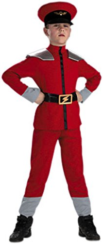 Kid's Street Fighter M. Bison Costume (Size:Large 7-10) ()
