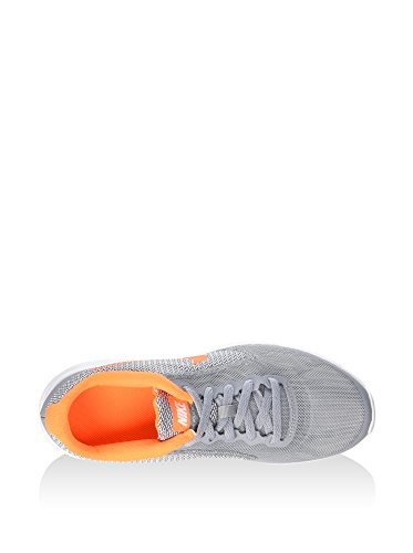 NIKE Kids 'Revolution 3 (GS) Laufschuhe Stealth / Total Orange / Weiß