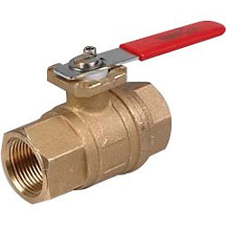 WaterCop Water Shut-Off Valve With Lever Handle for Rough In, Lead Free, 3/4 In. (WCMVLF-3/4)