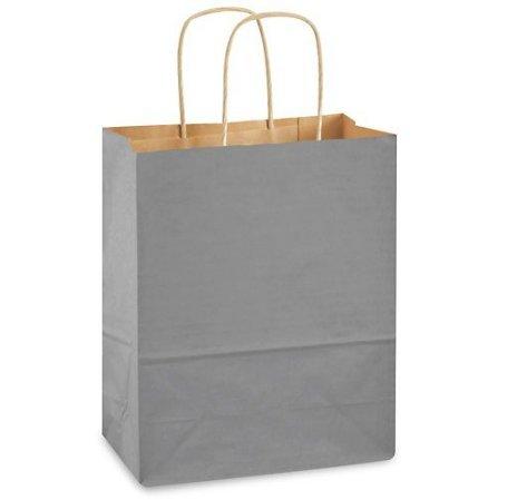 USA-Made Medium Kraft Paper Gift Wrap Bags (8