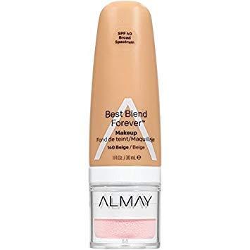 Almay Best Blend Forever Makeup, #140 Beige, 1 fl oz (Pack of 2) (Almay Best Blend Forever Makeup)