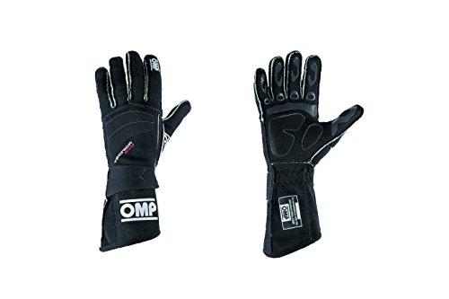OMP (IB/756/N/XL) Tecnica Evo Gloves, Black, X-Large by OMP (Image #1)