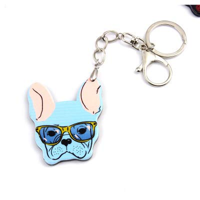 Amazon.com: Rarido Fashion French Bulldog Keychain Bag ...