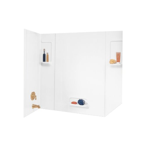 Swanstone TW-32-010 High Gloss Five Panel Tub Wall Kit, W...