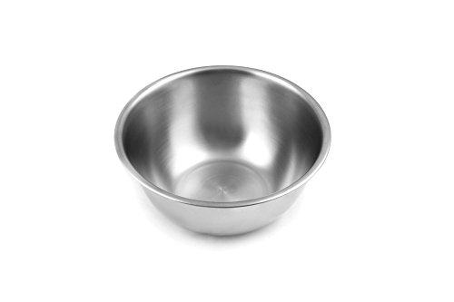 Fox Run Brands 2.75-Quart Stainless Steel Mixing Bowl (Supreme Steel Stainless Colander)