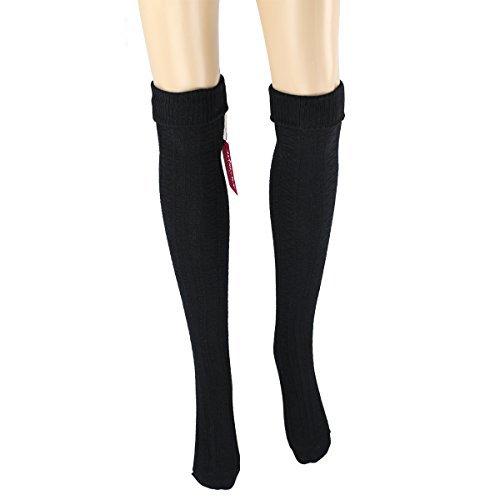 f19339ac920 Women girls thigh high socks winter over knee leg warmer - Knit Crochet  Socks
