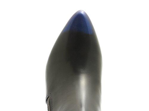 United Nude Rocky Mid - Botas de Piel para mujer Azul - azul