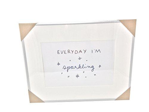 'Everyday Im Sparkling' or 'Rose All Day' Framed Print 14x18 (Everyday I'm sparkling)
