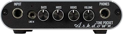 Ashdown Tone Pocket Bass Headphone Amplifier