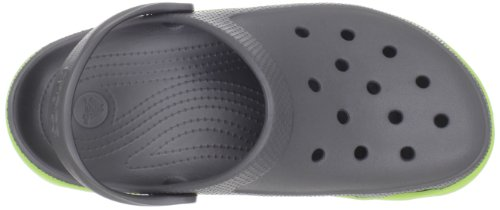 Graphite Clog Duet Unisex Volt Green Crocs Sport xtgIw8Cq