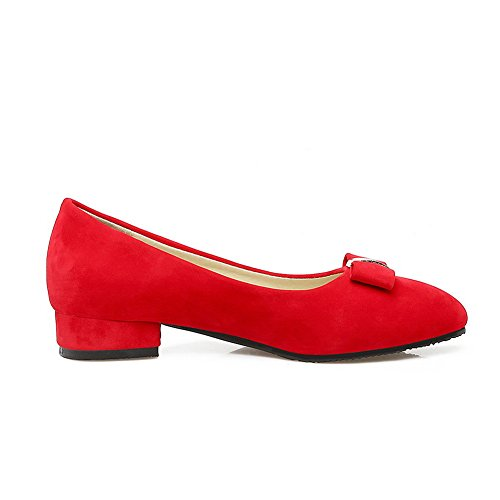 cerrados Rojo Para BalaMasa mujer Zapatos YwxqfFwR