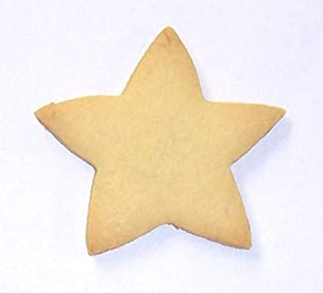 Scott S Cakes Undecorated 3 Small Christmas Star Sugar Cookies