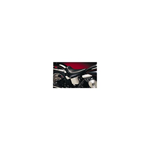 Le Pera Silhouette Solo Vinyl Seat for 1991-2010 Harley Davidson Dyna Models - Color : Black - Size : HD FXDWG/I Dyna Wide Glide 2006-2010