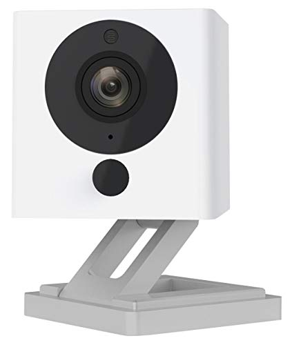 Wyze Cam 1080p HD Indoor Wireless Smart Home Camera with Night Vision,  2-Way Audio, Person Detection, Works with Alexa & the Google Assistant