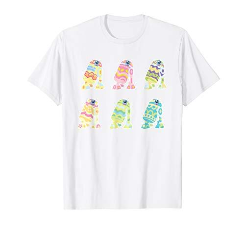 Star Wars R2-D2 Pastel Easter Eggs T-Shirt]()
