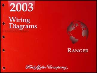 (2003 Ford Ranger Wiring Diagram Manual Original)