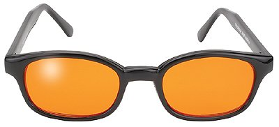 Original KD Sunglasses Orange Lens Biker Driving - Sunglasses Kd Biker