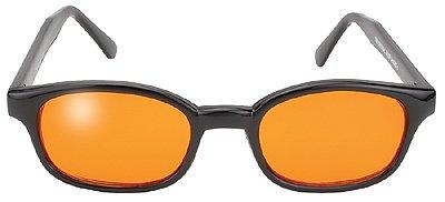 Original KD Sunglasses Orange Lens Biker Driving - Biker Kd Sunglasses