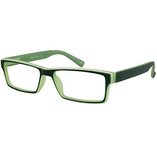 I NEED YOU Reading Glasses Green Capri Designer Square Frames - Eyeglasses For Men & Women With Plastic - Prescription Eyewear - Power +1.5