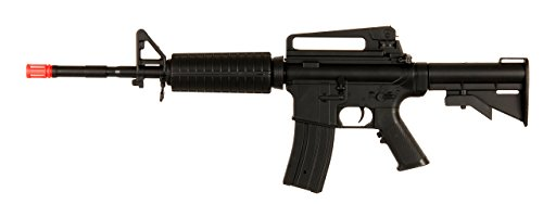 WELL M4A1 AEG Semi/Full Auto Electric Airsoft Rifle Gun High Capacity Magazine FPS 170