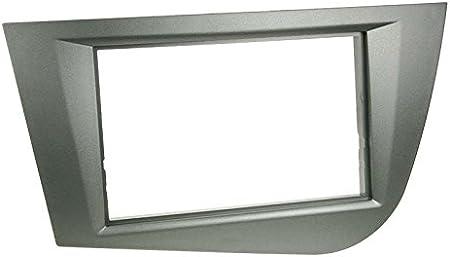 Acv 281328 – 05 de 2 DIN de Radio para Seat Leon 2005 – 2009 Antracita