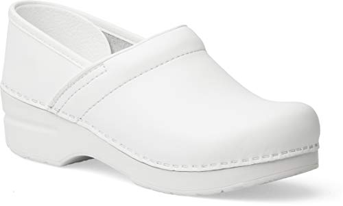 Dansko Women's Professional White Box Clog 8.5-9 Narrow US