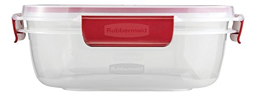 Rubbermaid-Easy-Find-Lids-Food-Storage-Container-Clear-with-Red-Tabs